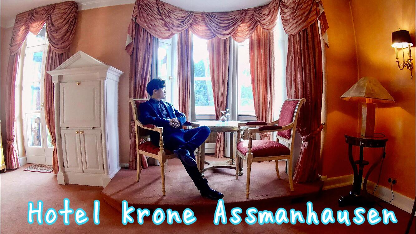 【ドイツ旅行】在住者がおすすめする誰も知らないライン川沿いのホテル Hotel Krone Assmanhausen (ホテル クローネ アスマンハウゼン)